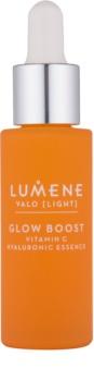 Lumene Valo [Light] loțiune nutritivă iluminatoare cu acid hialuronic